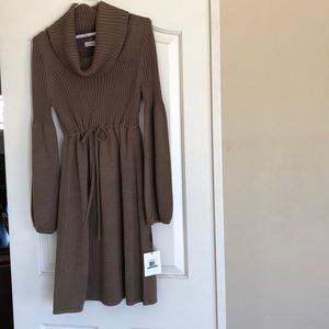 Calvin Klein sweater dress.